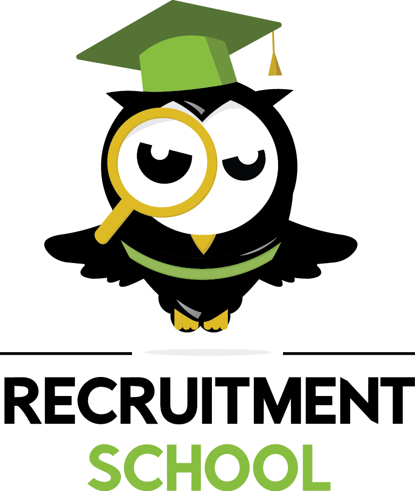 Recruitment school logo verticall